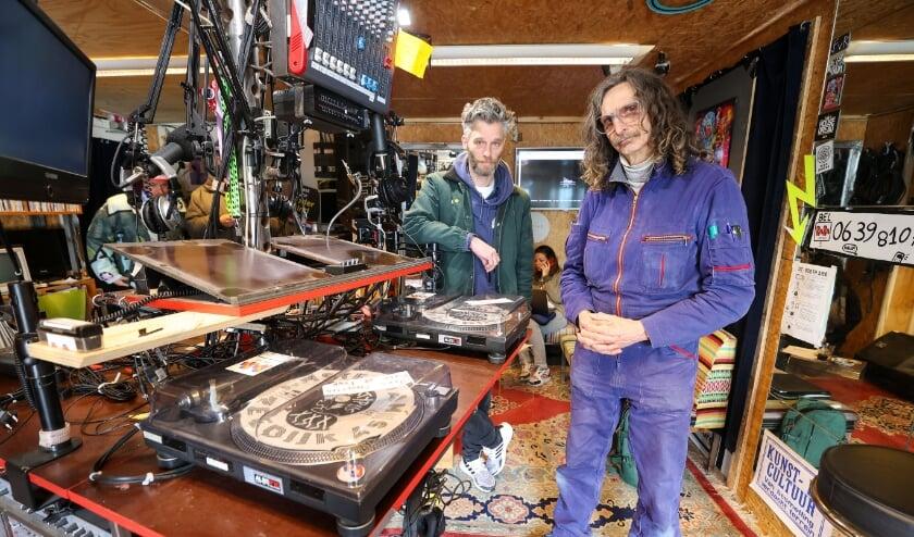 <p>De studio van Rararadio. (Foto: Bert Jansen).</p>