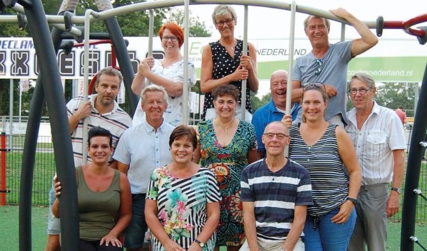 <p>De jubileumcommissie van Sparta bijeen, nog vóór de coronapandemie. (Foto: Klaas Friskus)</p>