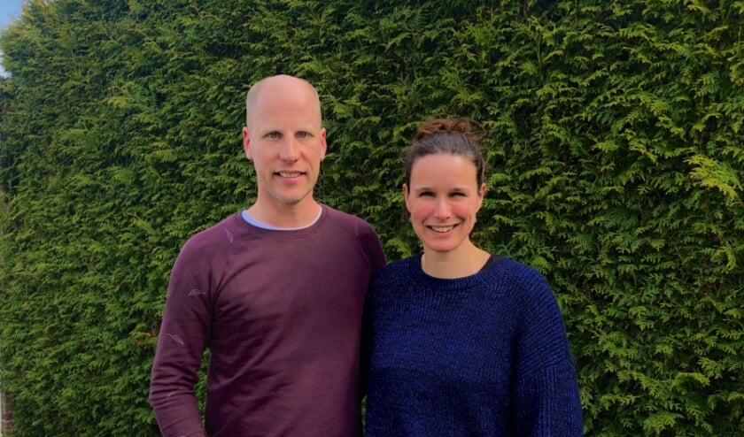 <p>Roland en Heleen van Gogh doen mee aan de sponsorloop voor het Ronald McDonald huis</p>