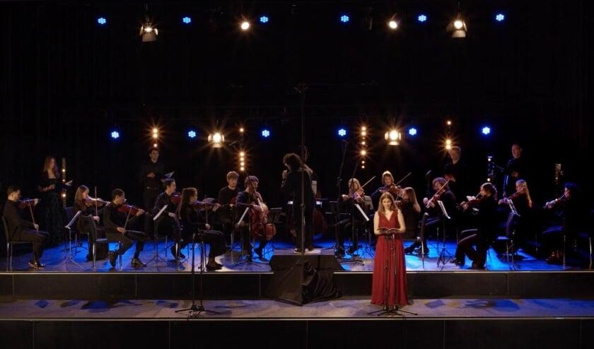 Overview orkest, koorzangers en solist