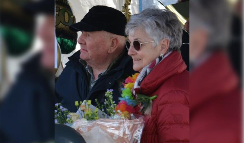 <p>Het gouden bruidspaar Frans en Lilly</p>