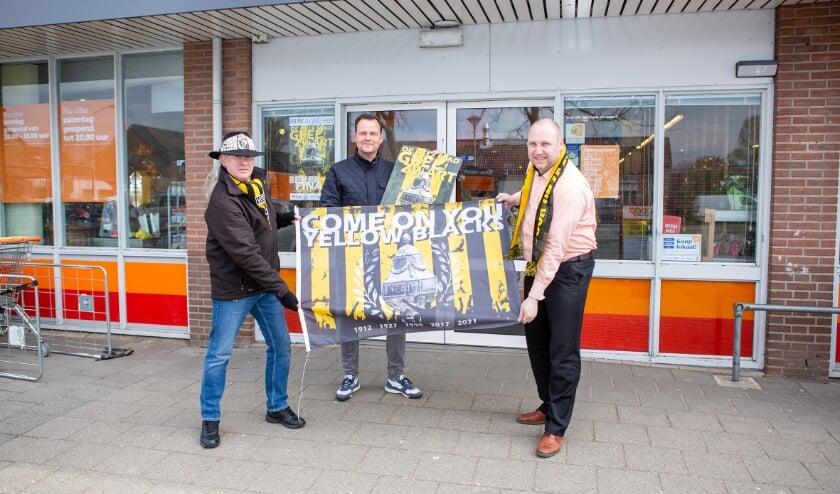 <p>Vlnr: Rik Bakker, Joris Meeuwsen en Jeroen Venema van Coop Duiven.</p>