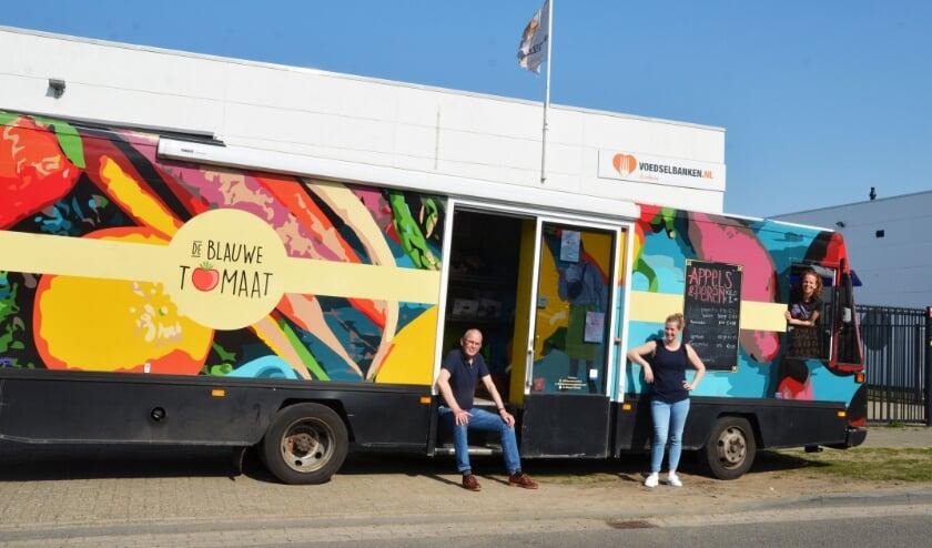 Thom Dieben, Frauke Gieling en Loes van der Meulen zetten zich in voor meer groente en fruit