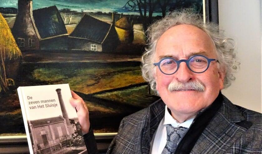 <p>Bert Euser is gefascineerd en misschien wel een beetje geobsedeerd door de 2e Wereldoorlog. Foto: Joop van der Hor</p>