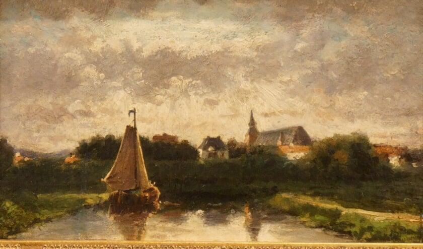 <p>Het 'Gezicht op Hattem' van Gerrit Jan Scheurleer is te vinden in de Zicht op Hattem-zaal.&nbsp;</p>