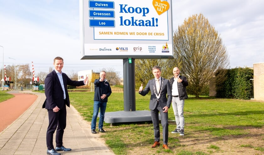 <p>V.l.n.r.: Rico Megens, Theo de Reus, Huub Hieltjes en Peter Houthuijzen.</p>