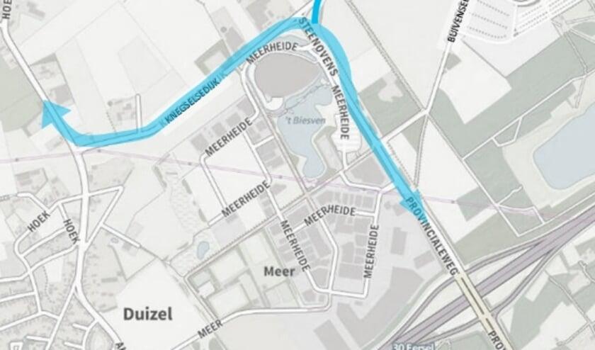 <p>De gemeente Eersel wil het verkeer dat van en naar de snelweg A67 rijdt beter stroomlijnen.</p>
