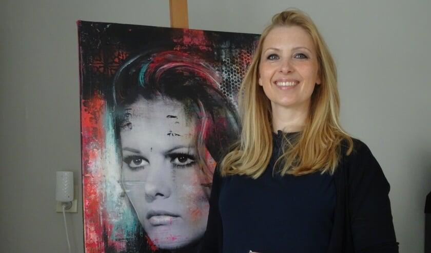 Yvette: Het is belangrijk dat de gelijkenis zeer treffend is en het portret 'leeft'