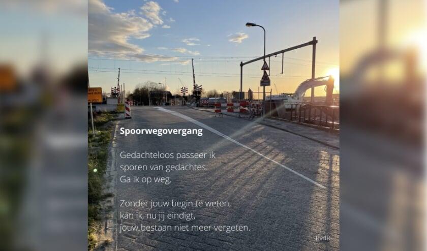 <p>Deze week is spoorwegovergang &#39;t Haantje officieel gesloten. Rick van der Rest maakte deze foto en schreef het gedicht.&nbsp;</p>