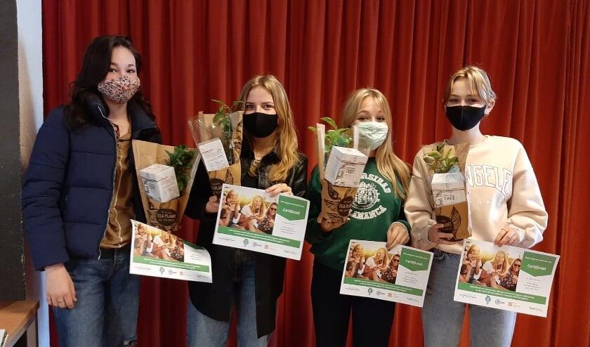 <p>Het winnende advies komt van Lynn, Frida, Julia en Julie met hun idee &#39;Future Food&#39; </p>