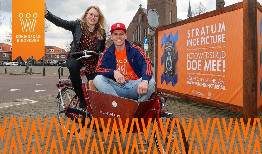 <p>Ingelou Stol en Mike Weerts verzorgen de presentatie in de online Orange Room. (Foto: Bert Jansen).</p>