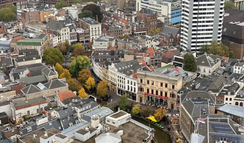 <p>Verschillende partijen willen de leegstand in de binnenstad aanpakken. Foto: Bonnie Dekkers/indebuurt Utrecht</p>