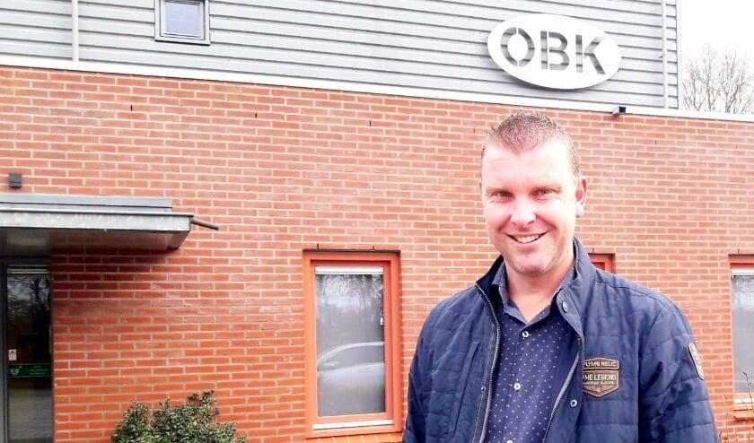 <p>Jan Veldhuizen, een voorbeeld van de eigen kweek van OBK, is nu de vrolijke voorzitter.</p>