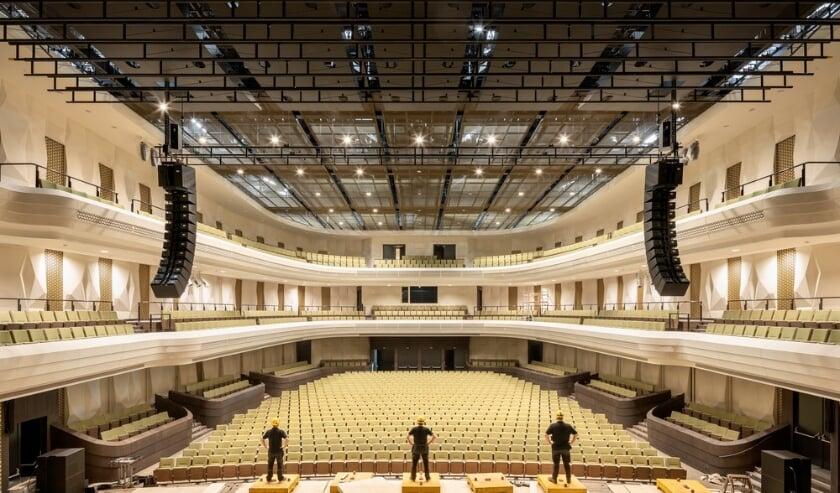 <p>De concertzaal van cultuurcomplex Amare&nbsp;</p>