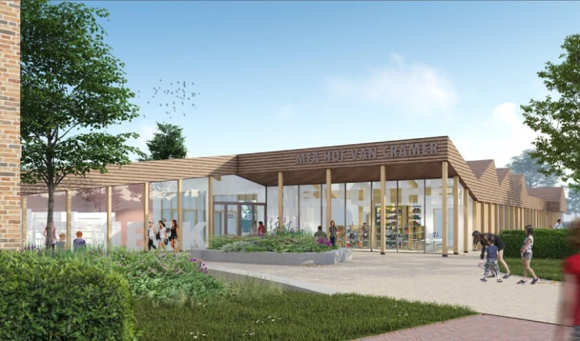 <p>Het conceptontwerp voor de nieuwe mfa Wapenveld op de plek van de tennishal.</p>