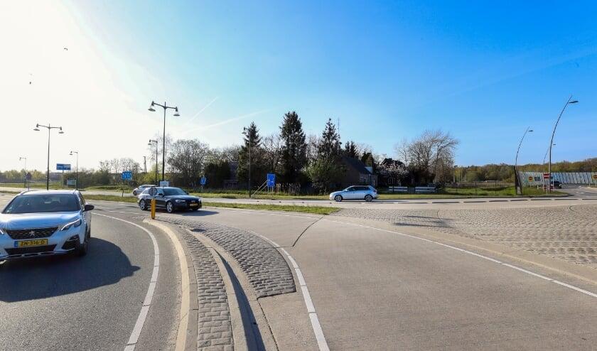 <p>De Sliffertsestraat loopt nu nog midden door Land Forum. (Foto: Bert Jansen).</p>