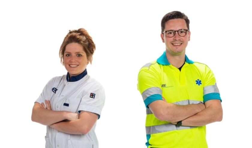 <p>Jantina Wijnakker werkt sinds deze week als verpleegkundige op de Spoedeisende Hulp &eacute;n de ambulance. Ze doet dit samen met ambulanceverpleegkundige collega Bram Koster.</p>
