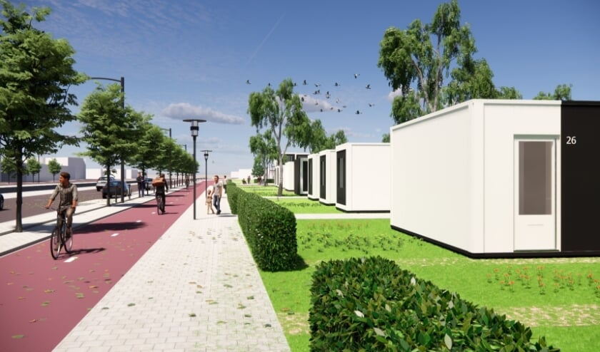 <p>In de geplande tijdelijke woningen aan de Henri Faasdreef/Oude Middenweg kan men, net als in een gewone huurwoning, zelfstandig wonen.&nbsp;</p>