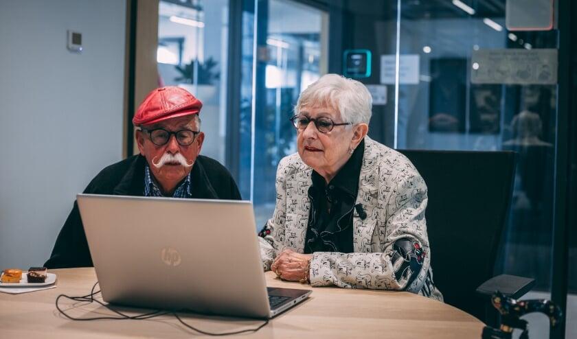 <p>Dody en Gerard Pril testten de AI-cursus.</p>