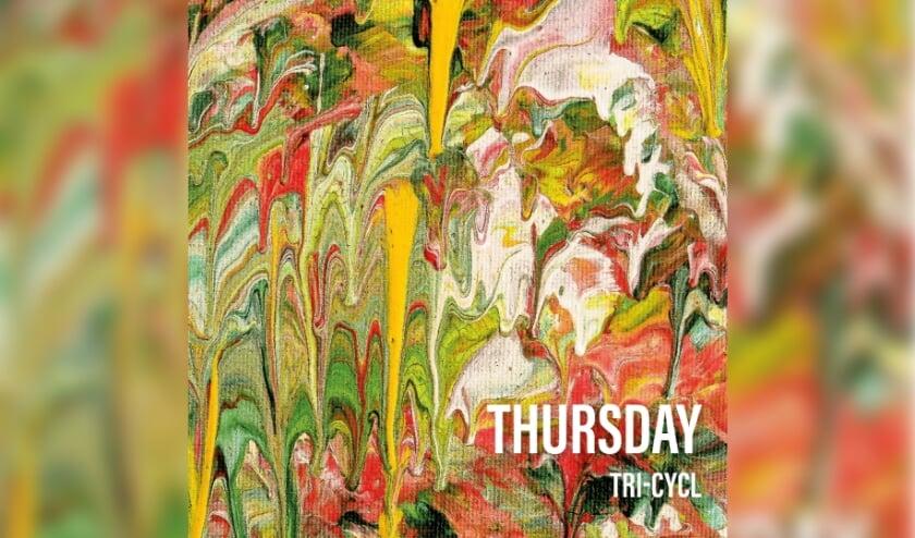 <p>Voorkant van Thursday, de EP van Tri-Cycl</p>