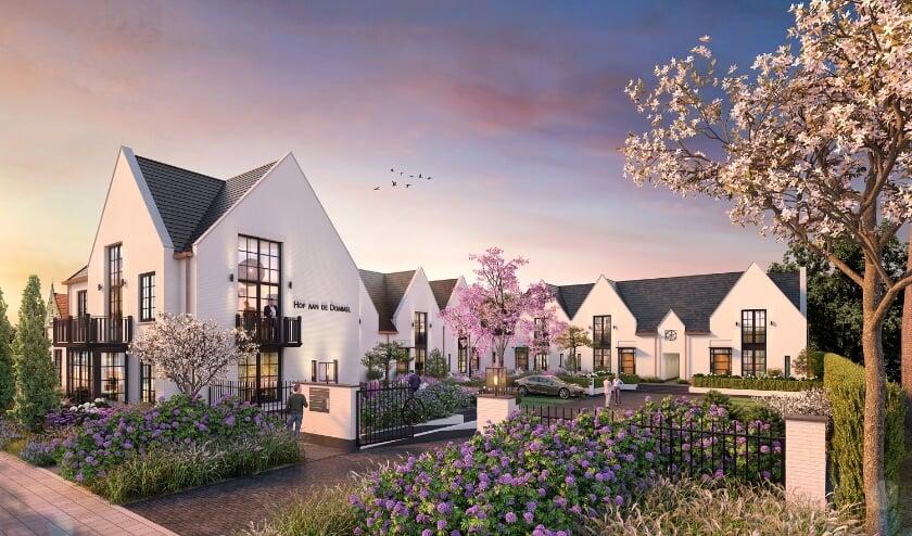 <p>Nog dit jaar wordt gestart met de bouw van een luxe woonhof met 6 gelijkvloerse woningen en 2 appartementen aan een groene hoftuin. </p>