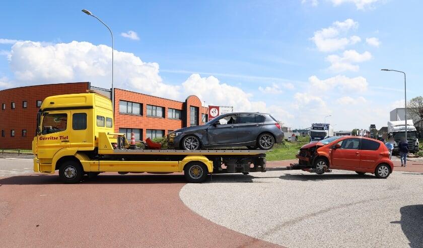 Ongeval tussen tweeauto's