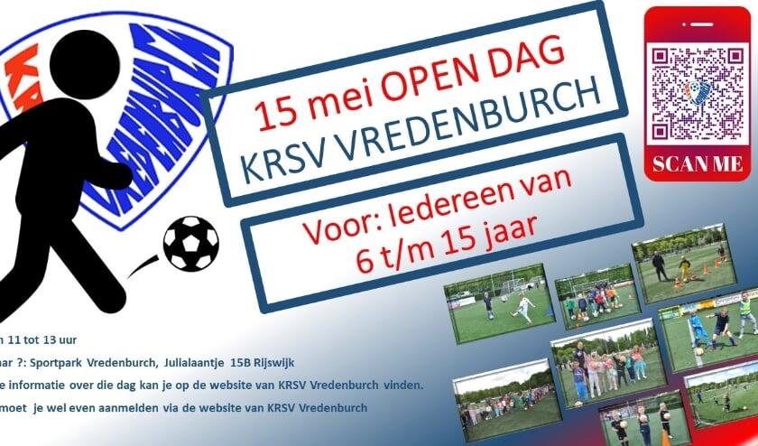 <p>KRSV Vredenburch organiseert op 15 mei een open dag.</p>