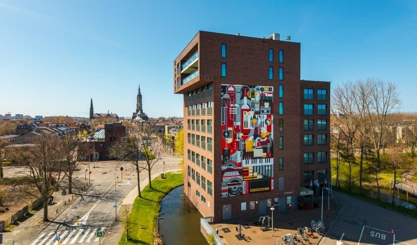 <p>Delft heeft er een kunstwerk bij</p>