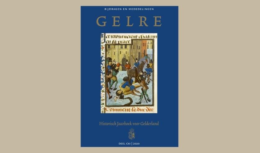 <p>Illustratie van een jongeman uit Horssen die in de vijftiende eeuw op dramatische wijze de dood vond in de straten van Parijs.</p>