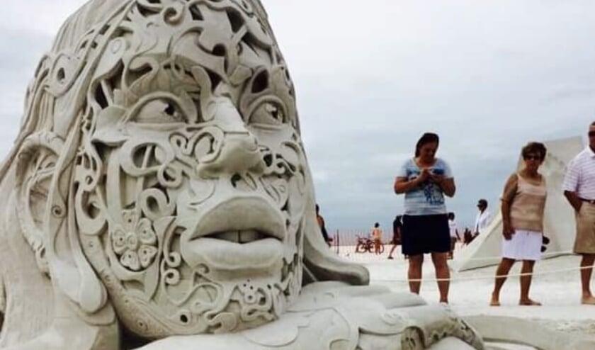 <p>Zandsculptuur</p>