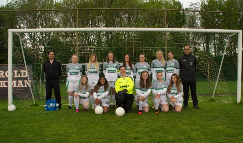 <p>Het nieuwste elftal van SDZZ: Dames 1&nbsp;</p>