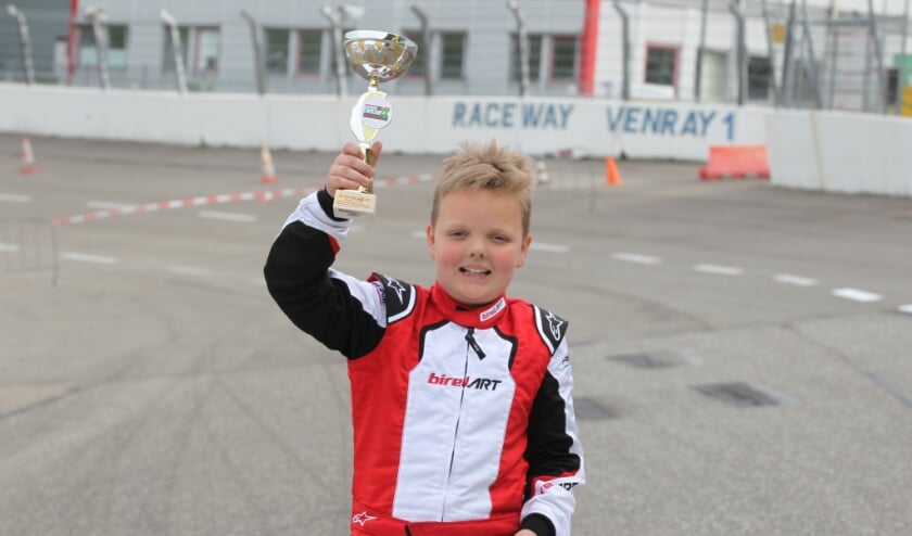 <p>Zijn passie voor karten ontstond al toen Temmo pas 5 jaar oud was.</p>
