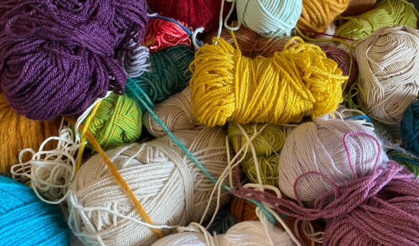 Wol in vele kleuren en maten