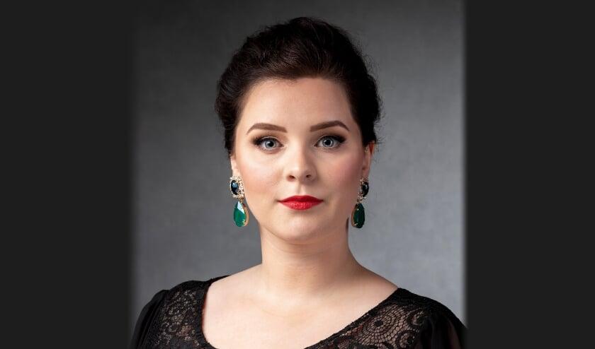 <p>Uitvoerend sopraan Irene Hoogveld.</p>