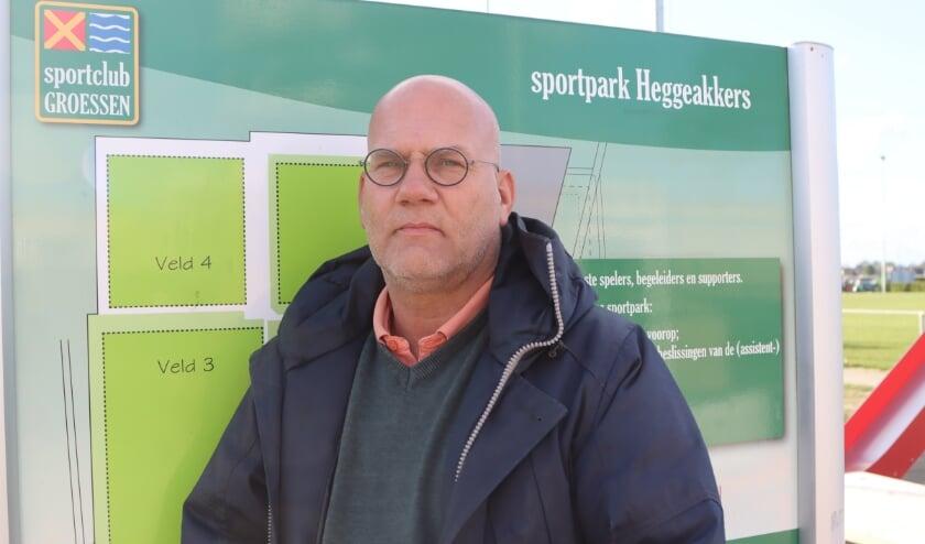 """<p>Marnix Arentsen: """"Mijn voorganger Jos Lukkezen vroeg mij als voorzitter, dat vond ik een grote eer"""".</p>"""