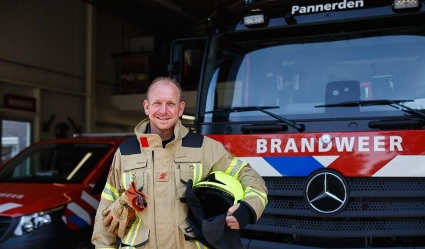 <p>Heico Harmsen is één van de brandweerlieden van Brandweer Pannerden. Hij is op zoek naar nieuwe collega's.</p>