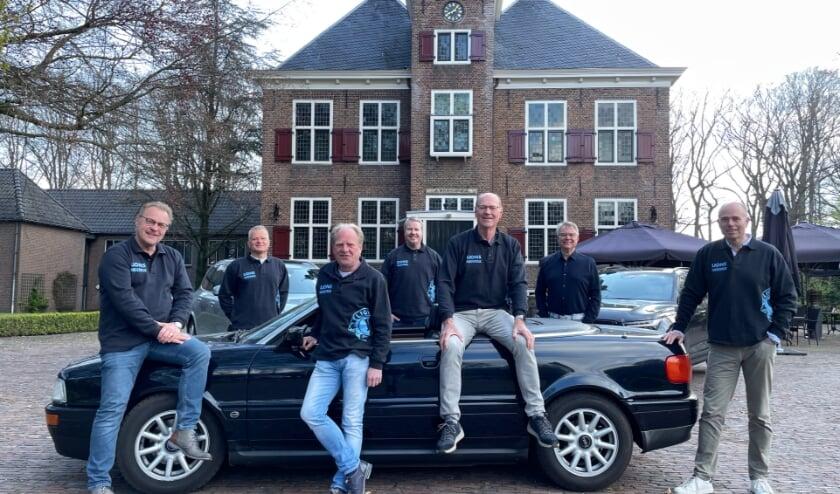 <p>De commissie van de lions. (foto: Bodil Gresel)</p>