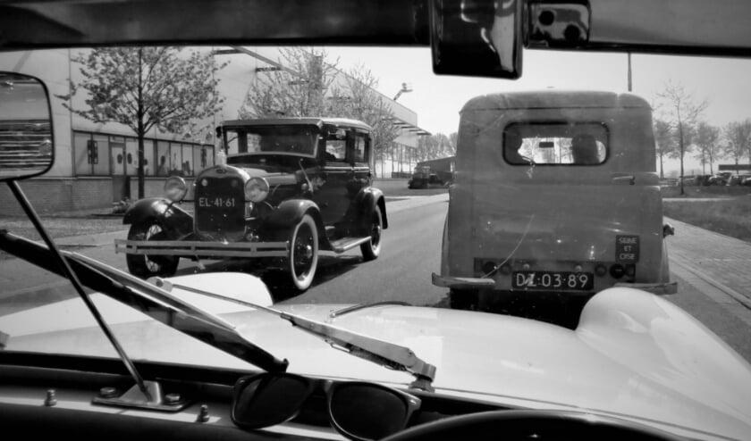 <p>&nbsp;Alle aandacht is gericht op het rijdend erfgoed, zoals oldtimers ouder dan veertig jaar, trucks, trekkers, motoren en bromfietsen. Foto: Rob Zantinge</p>