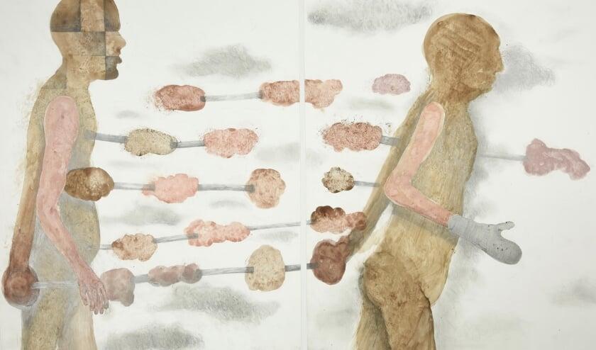 <p>Sjef Henderickx, Homo Ludens Sat&eacute;, 2009, uit de serie Hommage aan.</p>