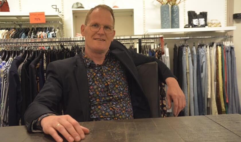 <p>Jan Dickhof: &ldquo;Gelukkig geen bedrijven omgevallen.&rdquo; (foto: Dick van der Veen)&nbsp;</p>