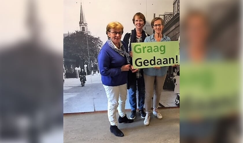 <p>Vrijwilligers Stichting Graag Gedaan hebben met hun werk hun doel bereikt.</p>