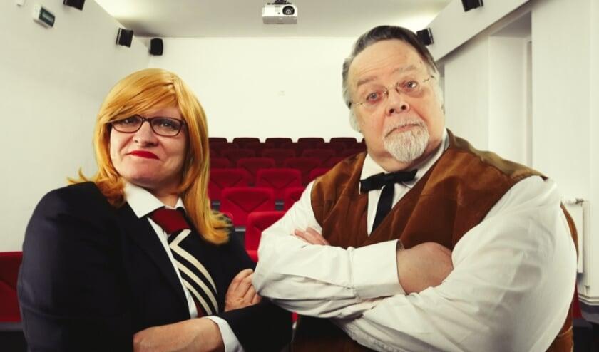 <p>&nbsp;Helga Cremers en Serge Brink.</p>