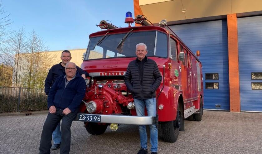 <p>Een verdiende plek in het museum en in vele harten voor de Austin, de oude Ambachtse brandweerwagen.</p>