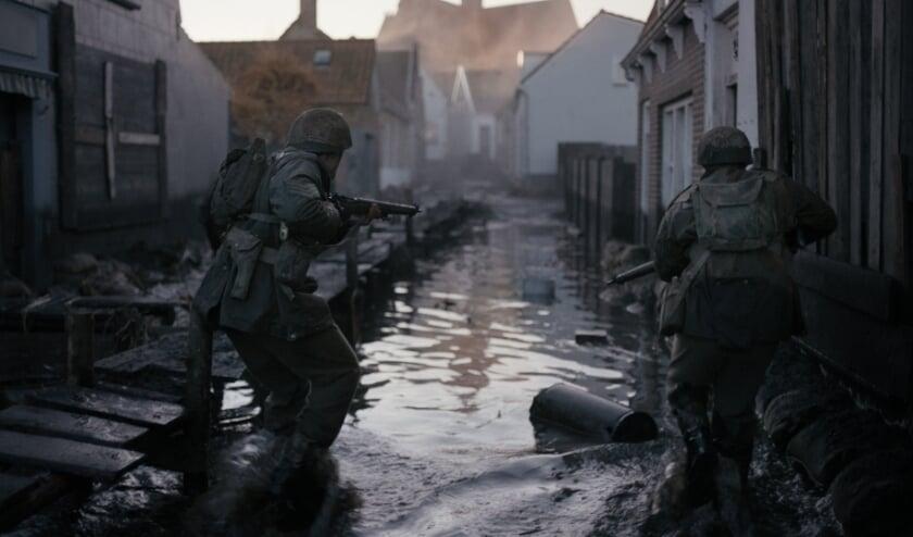 <p>Een fragment uit de oorlogsfilm De Slag om de Schelde die vanaf volgende week drie weken in het Barghse Huus te zien is.</p>