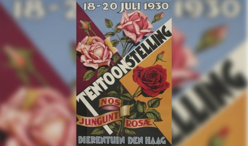 <p>De tentoonstelling bestaat uit een verzameling van affiches, foto&#39;s en reclamefolders, allemaal met bloemen in hoofdrol.&nbsp;</p>