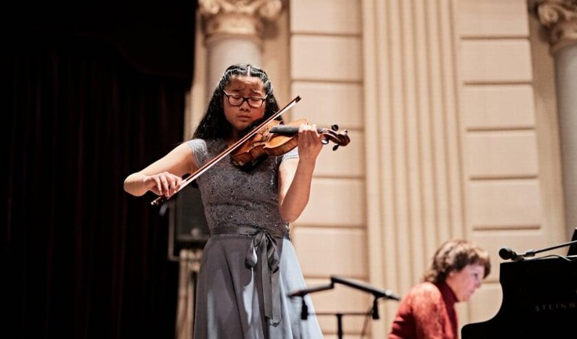 <p>Meteen na de bekendmaking dat ze in de finale staat, is Michelle Kumara uit Den Haag een nieuw stuk gaan instuderen.</p>
