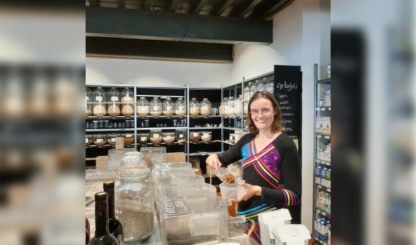 Estia doet verpakkingsvrij boodschappen