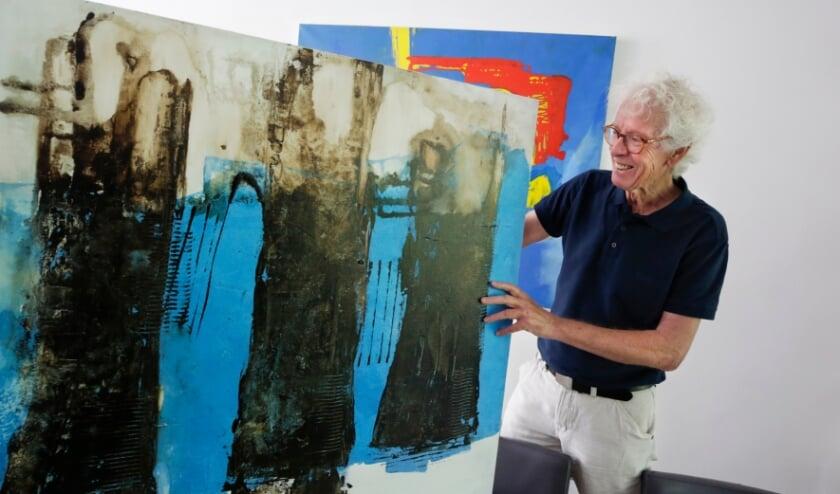 <p>Will Verhagen, voorzitter van Stichting Vaart. &nbsp;Zij organiseren de atelierroute die dit jaar in september wordt gehouden. </p>