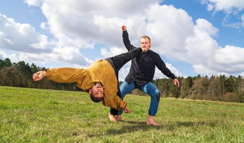 <p>In de komende weken zijn diverse dansgezelschappen in het Máximapark actief voor opnames. Eigen foto</p>