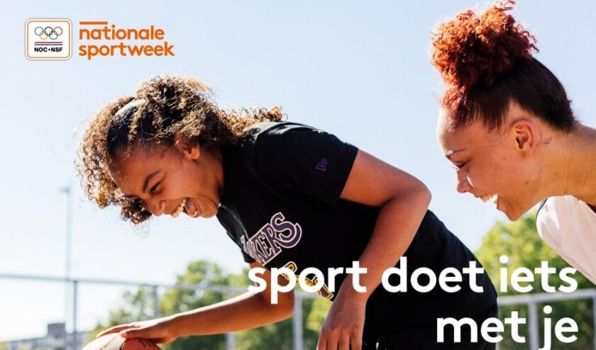 <p>De Nationale Sportweek is een initiatief van NOC*NSF met als doel om sport te promoten en mensen te inspireren te gaan bewegen.&nbsp;</p>
